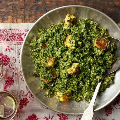 Indian Palak Paneer Recipe